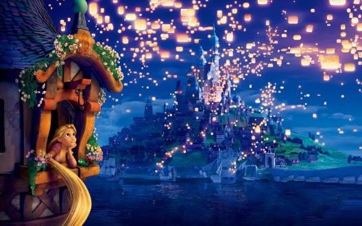 Night-Evening-Tangled-Rapunzel