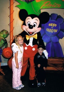 Disney 2005 - Brooklyn and Jaron